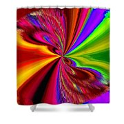 Pizzazz 1 Shower Curtain