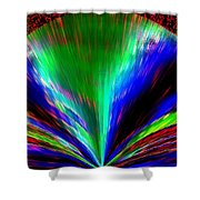 Pizzazz 10 Shower Curtain