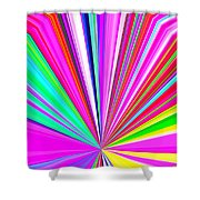 Pizzazz 11 Shower Curtain