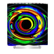 Pizzazz 12 Shower Curtain
