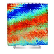 Pizzazz 13 Shower Curtain