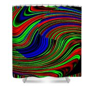 Pizzazz 18 Shower Curtain