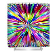 Pizzazz 19 Shower Curtain
