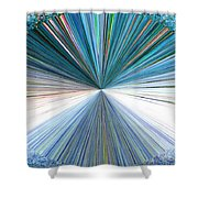 Pizzazz 22 Shower Curtain