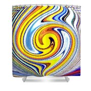 Pizzazz 25 Shower Curtain