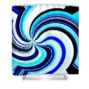 Pizzazz 27 Shower Curtain