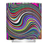 Pizzazz 29 Shower Curtain