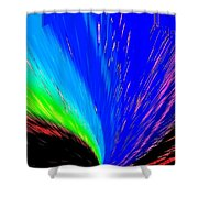 Pizzazz 3 Shower Curtain