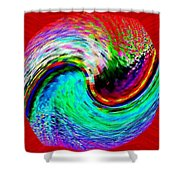 Pizzazz 32 Shower Curtain