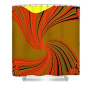 Pizzazz 34 Shower Curtain