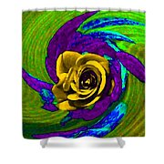 Pizzazz 4 Shower Curtain