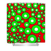 Pizzazz 5 Shower Curtain