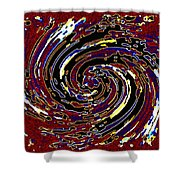 Pizzazz 51 Shower Curtain