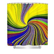 Pizzazz 53 Shower Curtain