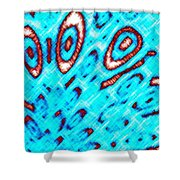 Pizzazz 6 Shower Curtain