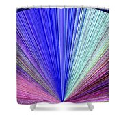 Pizzazz 8 Shower Curtain