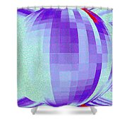Pizzazz 9 Shower Curtain