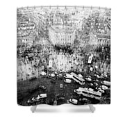 Place Charles De Gaulle Shower Curtain