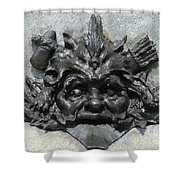 Place D'armes Sculpture 7 Shower Curtain