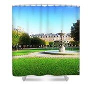 Place De Vosges, Paris Shower Curtain