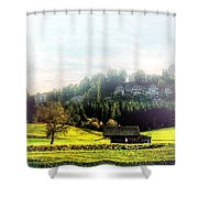 Place Shower Curtain