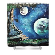 Place For Dreaming Shower Curtain
