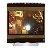 Place St Michel To Rue Saint-andre Des Arts Greeting Card And Poster Shower Curtain