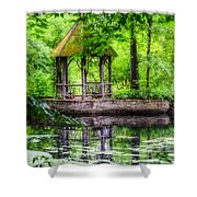 Place To Relax And Meditate  Shower Curtain