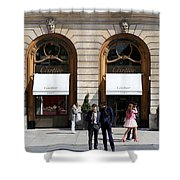 Place Vendome Paris 2 Shower Curtain