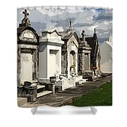 Place Where Dead People Are Buried Shower Curtain