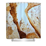 Places Of Worship Shower Curtain