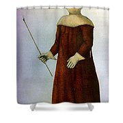 Plague Costume Shower Curtain