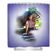 Plaid Chevelle Shower Curtain