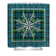 Plaid Snowflakes-jp3704 Shower Curtain