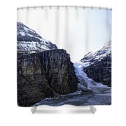 Plain Of Six Glaciers Trail Terminus -- Canada Shower Curtain