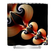 Plaited Love Shower Curtain