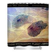 Planet Art Close Encounters Shower Curtain