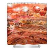 Planet Earth - Save Our Deserts Shower Curtain