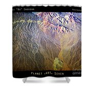 Planet Earth Seven Shower Curtain