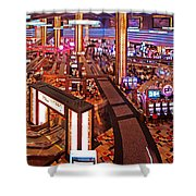 Planet Hollywood Casino Shower Curtain