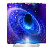 Planetary Galactic Shower Curtain