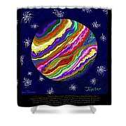 Planets 4 5 6  - Science Shower Curtain