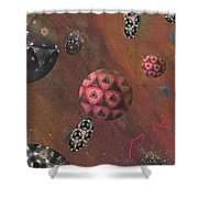 Planets Shower Curtain