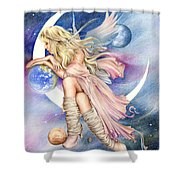 Planets Of The Universe Shower Curtain