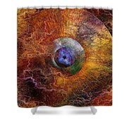 Planets Unstable Shower Curtain