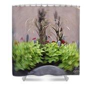 Plant Circle Shower Curtain
