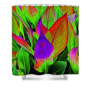 Plant Details Shower Curtain