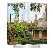 Plant Hall University Of Tampa Shower Curtain