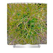 Plant Power 10 Shower Curtain