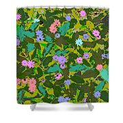 Plant Power 2 Shower Curtain by Eikoni Images